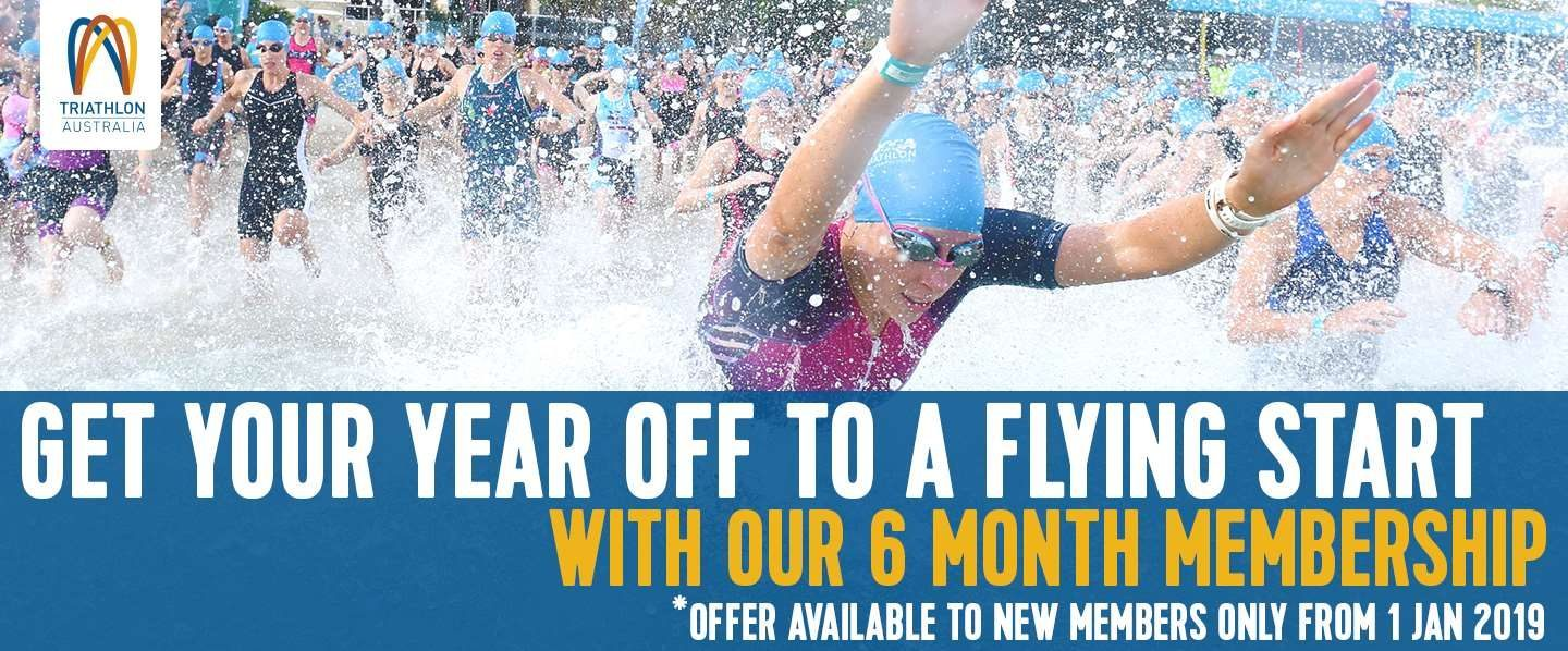 SIX-MONTH MEMBERSHIP AVAILABLE FOR NEW MEMBERS